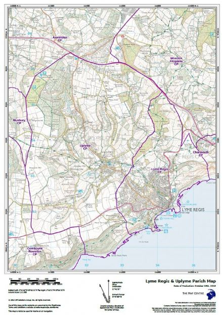 Build Your Own Map Civil Parish Map